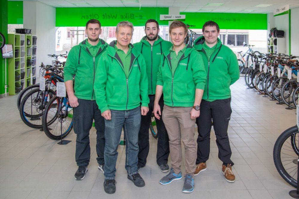 e-motion e-Bike Welt Olten Termin buchen