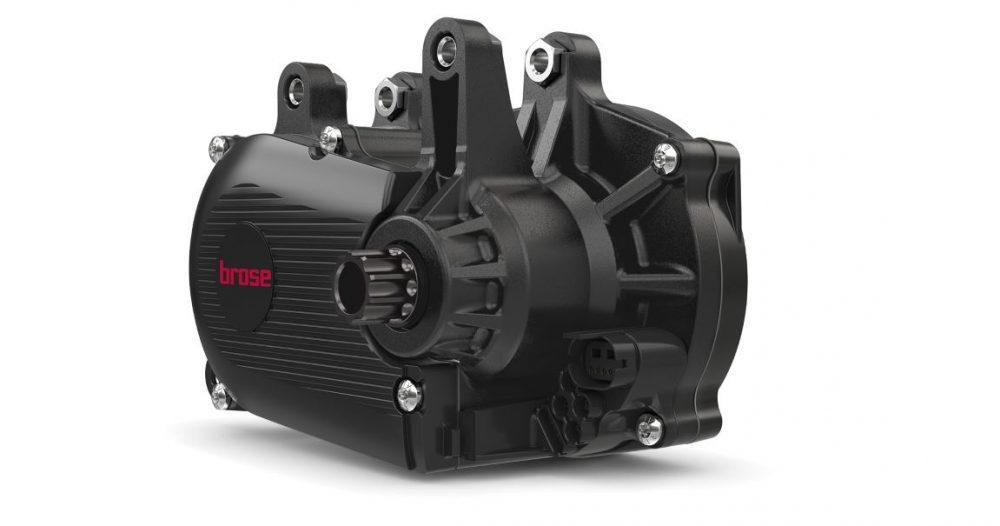Der leichte Brose Drive S Mag e-MTB Antrieb mit Magnesium Gehäuse