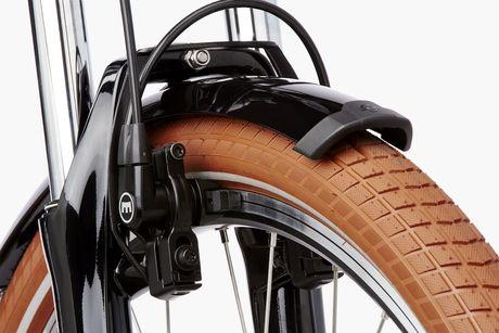 Die Felgenbremse gehört zu den zuverlässigsten Bremsen und ist vor allem in Alltags e-Bikes sehr beliebt.
