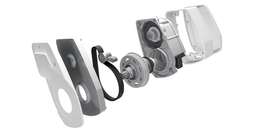 Bauteile des Brose Drive S e-Bike Antrieb