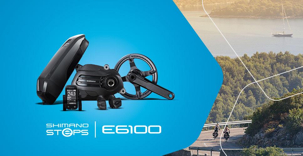 Infos zum Shimano Steps E6100 City e-Bike Antrieb