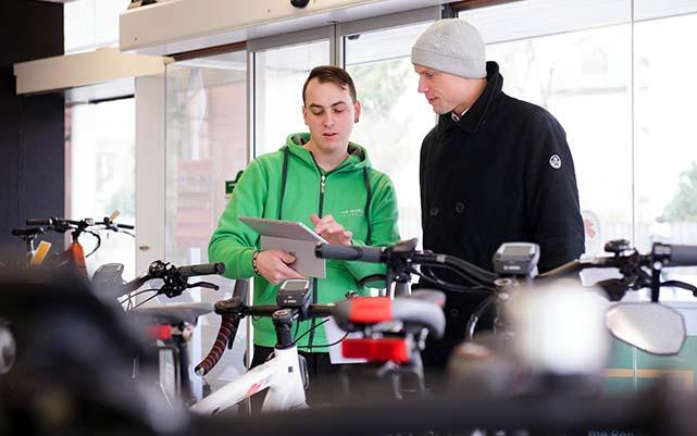 Jobs als e-Bike Verkäufer